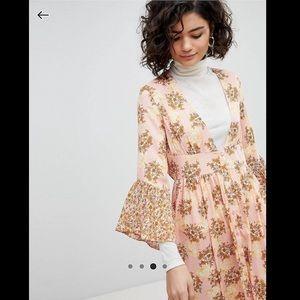 ASOS button down maxi dress